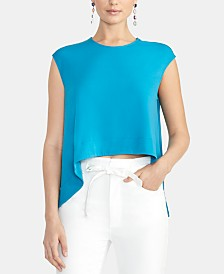 RACHEL Rachel Roy Asymmetrical Crop Top