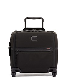 Alpha 3 Compact 4 Wheeled Briefcase