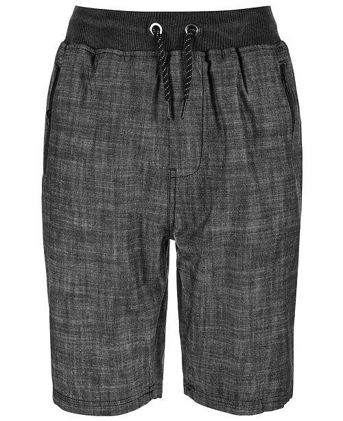 Univibe Big Boys Redondo Regular-Fit Twill Drawstring Shorts