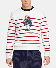 Polo Ralph Lauren Men's Sailor Bear Sweatshirt, Created for Macy's