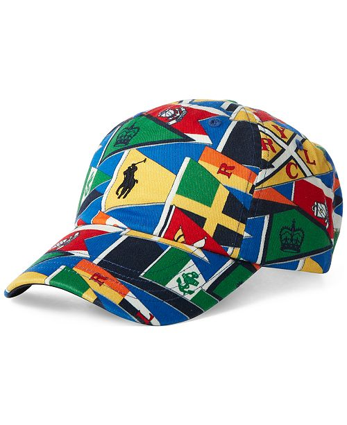 1406e788cb7d1 Polo Ralph Lauren Men s Burgee Flag Cap  Polo Ralph Lauren Men s Burgee Flag  ...
