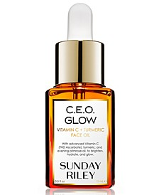 C.E.O. Glow Vitamin C + Turmeric Face Oil, 0.5-oz.