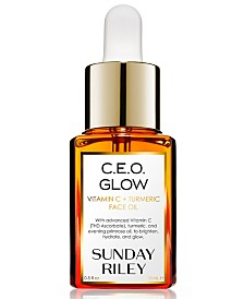 Sunday Riley C.E.O. Glow Vitamin C + Turmeric Face Oil, 0.5-oz.