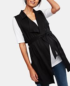 Maternity Belted Vest