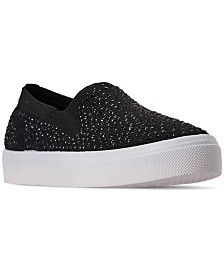 Skechers Women's Street Poppy - Studded Affair Slip-On Casual Sneakers from Finish Line