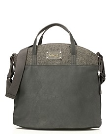 Babymel Grace Faux Leather Diaper Bag
