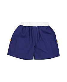 Masala Baby Big Boys Cargo Shorts, 18-24M