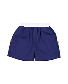 Masala Baby Big Boys Cargo Shorts, 18-24M