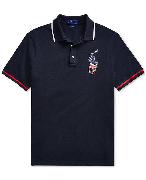 23d5a22f2c1 Men s Classic-Fit Pony Polo Americana Shirt