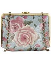 Patricia Nash Cariati Crackled Rose Garden Clutch 6aa8f2921709