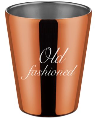Thirstystone Stainless Steel Copper Double Old Fashioned Cup