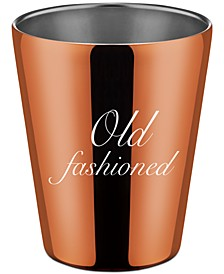 Stainless Steel Copper Double Old Fashioned Cup