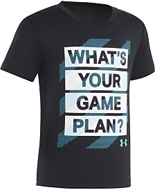 Under Armour Little Boys Game Plan Graphic T-Shirt