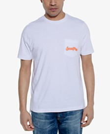 Sean John Men's Tiger Logo Graphic Pocket T-Shirt