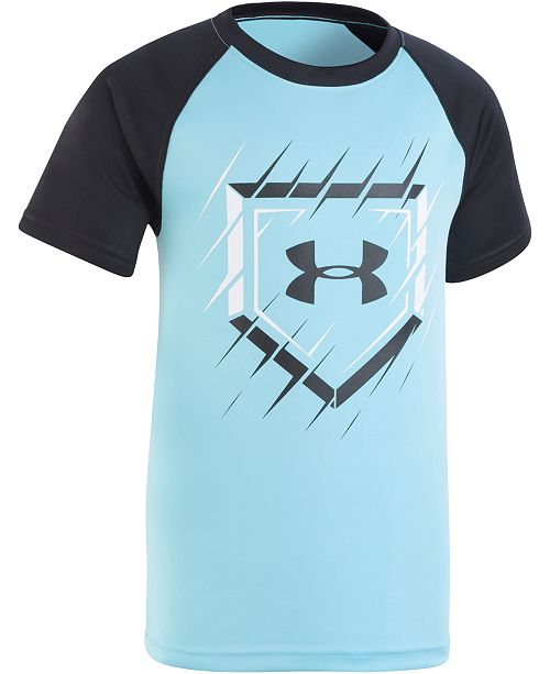 Under Armour Little Boys Slashed Bases Graphic T-Shirt