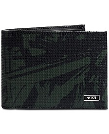 Tumi Men's Monaco Printed Leather Double Billfold