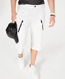 "I.N.C. Men's 18"" Michael Messenger Shorts, Created for Macy's"