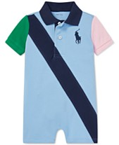 Polo Ralph Lauren Baby Boys Cotton Mesh Polo Shortall e743d8dc99b