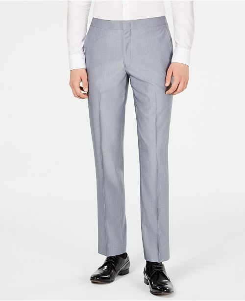 Ryan Seacrest Distinction Men's Slim-Fit Stretch Tuxedo Suit Pants, Created for Macy's