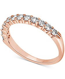 Diamond Band (1/2 ct. t.w.) in 14k Yellow, White or Rose Gold