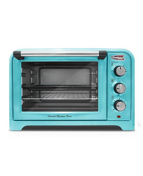 Elite by Maxi-Matic Americana by Elite 6 Slice, 26L Retro Toaster Oven