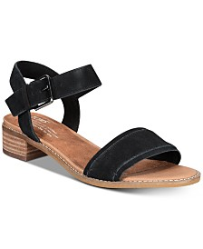 TOMS Women's Camilia Flat Sandals