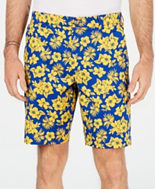 "Club Room Men's Memei Floral Graphic 9"" Shorts, Created for Macy's"