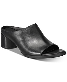 Ecco Women's Shape 45 Block-Heel Mules