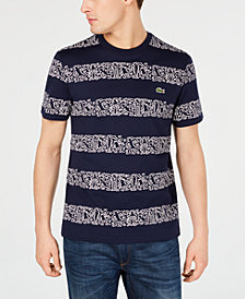 Lacoste x Keith Haring Men's Printed Stripes Jersey T-Shirt