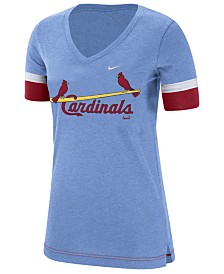 Nike Women's St. Louis Cardinals Tri-Blend Fan T-Shirt