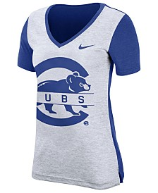 Nike Women's Chicago Cubs Dri-FIT Touch T-Shirt
