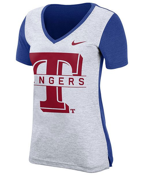 Nike Women's Texas Rangers Dri-FIT Touch T-Shirt