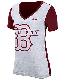 Nike Women's Boston Red Sox Dri-FIT Touch T-Shirt