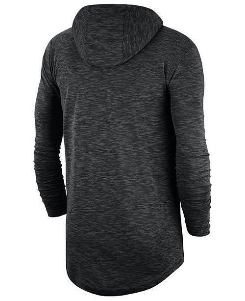 newest f4193 c2d59 Men's Baltimore Orioles Dry Slub Hooded T-Shirt