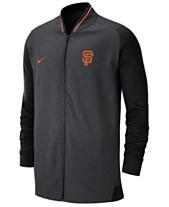 detailed look b014b 64614 Nike Men s San Francisco Giants Dry Game Track Jacket