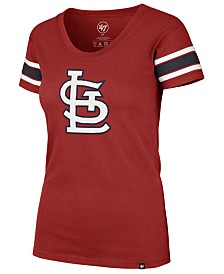 '47 Brand Women's St. Louis Cardinals Off Campus Scoop T-Shirt