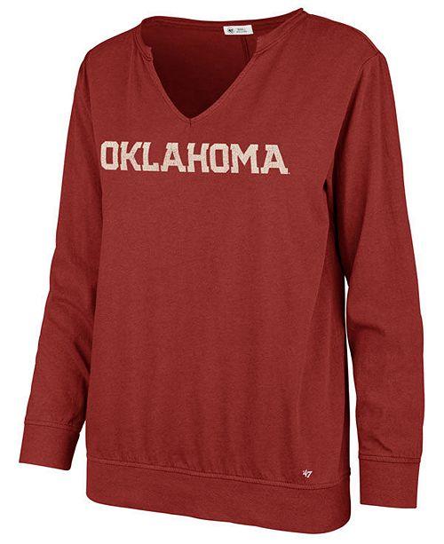 '47 Brand Women's Oklahoma Sooners Gamma Long Sleeve T-Shirt