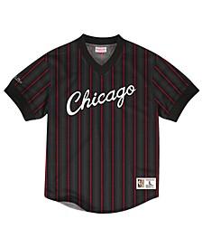 Men's Chicago Bulls Kicking It Wordmark Mesh T-Shirt
