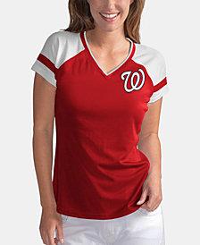 G-III Sports Women's Washington Nationals Biggest Fan T-Shirt
