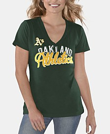 G-III Sports Women's Oakland Athletics Finals T-Shirt