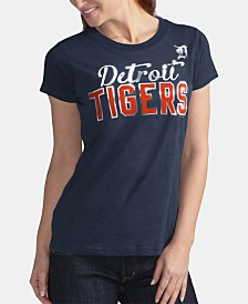 G-III Sports Women's Detroit Tigers Homeplate T-Shirt