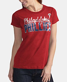 G-III Sports Women's Philadelphia Phillies Homeplate T-Shirt