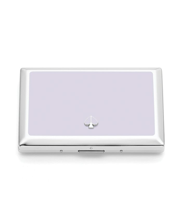 Kate Spade - Silver ID Holder, Lilac