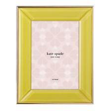 "kate spade new york Charles Street 5"" x 7"" Yellow Frame"