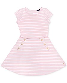 Tommy Hilfiger Baby Girls Striped Dress