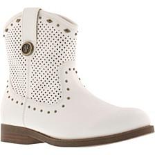Little & Big Girls Mel Tri Stud Cowboy Boot