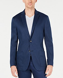 Men's Classic-Fit Stretch Solid Sport Coat, Created for Macy's