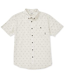 Men's All Day Geometric Jacquard Pocket Shirt