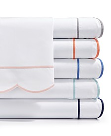 Signature Scallop Sheet Sets, 400 Thread Count 100% Cotton Percale, Created for Macy's
