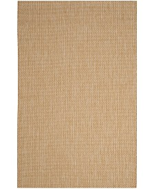 "Safavieh Courtyard Natural and Cream 5'3"" x 7'7"" Area Rug"